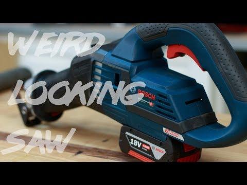 Weird Looking Recip Saw Review (Bosch GSA 18v-32)