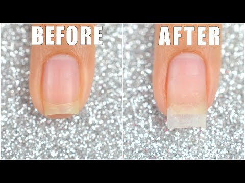 How To Extend Your Short Nail Using Dip Powder || LIFEISNAILS
