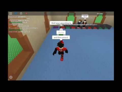 ROBLOX Kohls Admin House | How to fly Without Saying fly me (Tip)