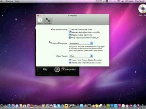 iPad Tip #1: How to rip DVD's to your iPad. (Mac)
