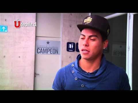 Edu Vargas entrena en el CDA