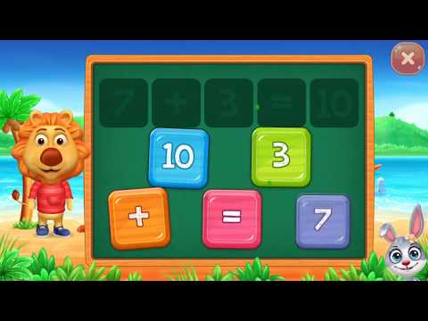 Math Kids - Add Subtract Count and Learn Educational Games for kids - part 2