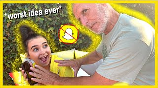 My Grandpa Goes Through My Phone (bad idea)