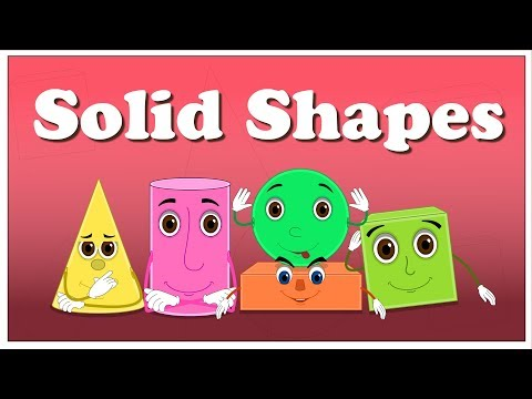 Solid Shapes for Kids | It's AumSum Time