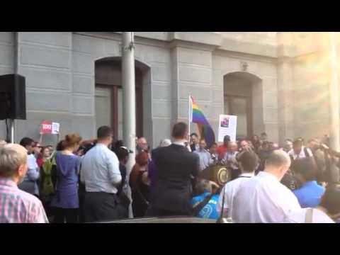 Celebrating Same-Sex Marriage Licenses in Pennsylvania