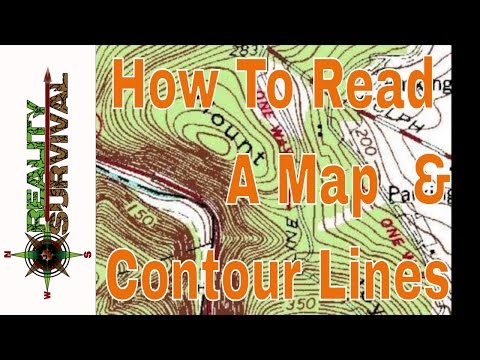 How To Read A Map & Contour Lines