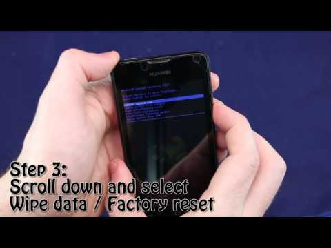 Huawei Y300 Forgotten Password Reset