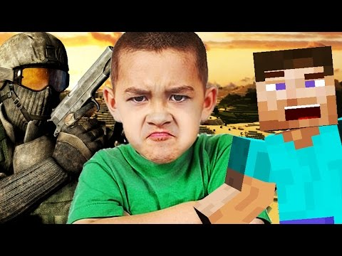 Trolling a YOUTUBE SQUEAKER In Minecraft AND Black Ops 2!