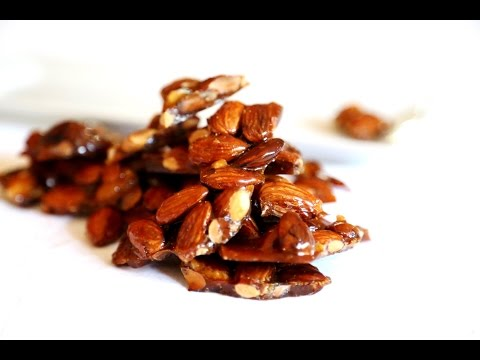 Homemade Candy - Almond Brittle Recipe - Heghineh Cooking Show