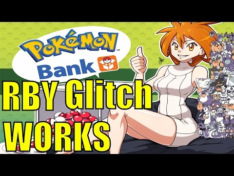 (Red/ Blue/ Yellow) Transfer to Pokemon Bank Trainer Glitch ⭐WORKS⭐