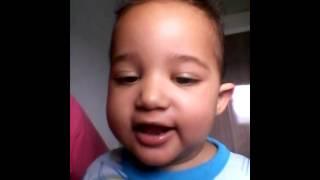 Bebê falando kkk