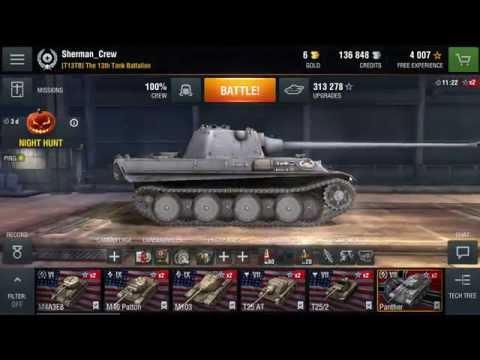 My Tanks: In My Garage (World of Tanks Blitz) 10/6/2016