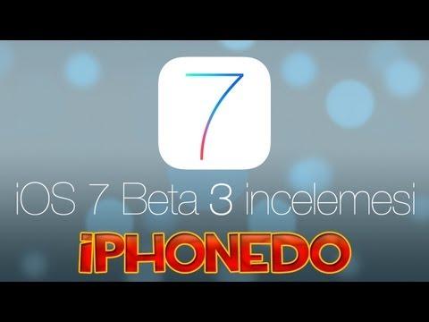 iOS 7 Beta 3 incelemesi