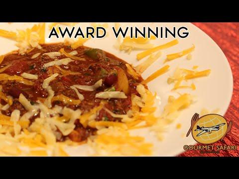Award Winning Chocolate Chili   Gourmet Safari