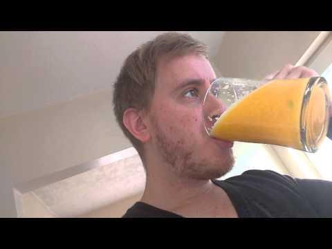 How to make orange smoothie
