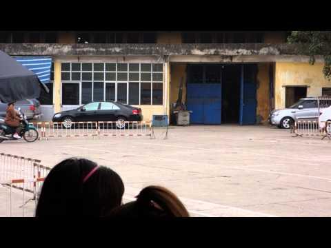 Hanoi Vietnam Motorbike driving test