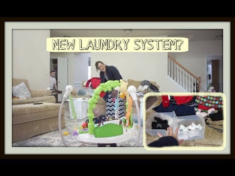 NEW LAUNDRY SYSTEM? (MARCH 27-29) VLOG