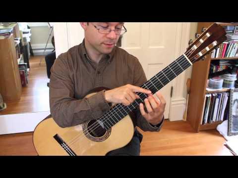 Lesson: Beginner Left Hand Exercises for Classical Guitar