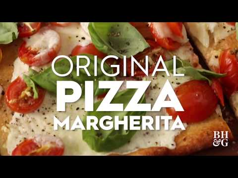 Original Pizza Margarita | Cooking: How-To | Better Homes & Gardens