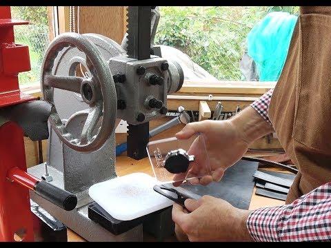 Ratchet Arbor Press For Craft,  Leatherwork etc.