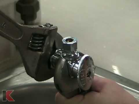 Keeney Manufacturing Compression Valve Install Tutorial