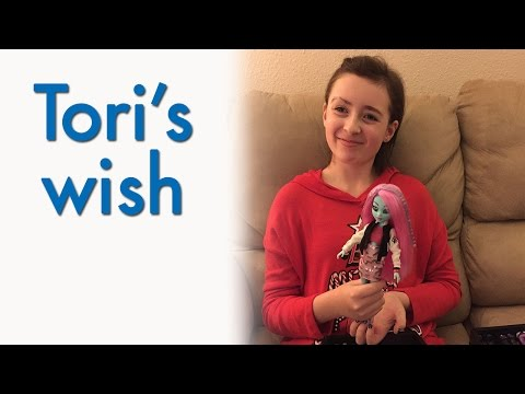 Tori: I wish to have my own custom Monster High doll