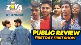 The Zoya Factor PUBLIC REVIEW | First Day First Show | Sonam Kapoor, Dulquer Salmaan