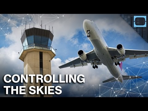 How Do We Keep Track Of All The Airplanes In Flight?