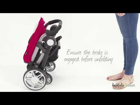 Larktale coast™ Folding and Unfolding Instructions