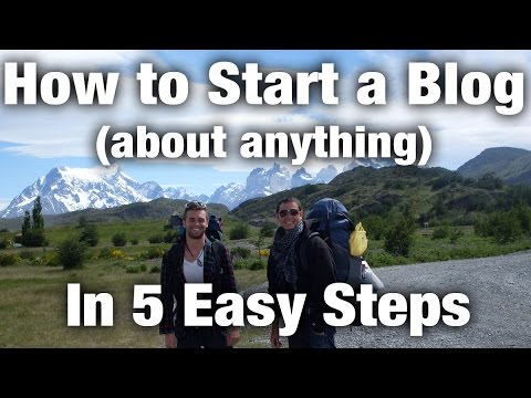 How To Start a Blog: Follow These 5 Easy Steps Now
