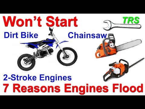 7 Reasons an Engine Loses Power, Won't Start, Cuts Out, Bog Down/2 Stroke Cycle/Excess Fuel/Flooding