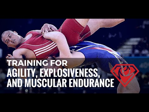Wrestlers Workout: Agility, Explosiveness, and Muscular Endurance