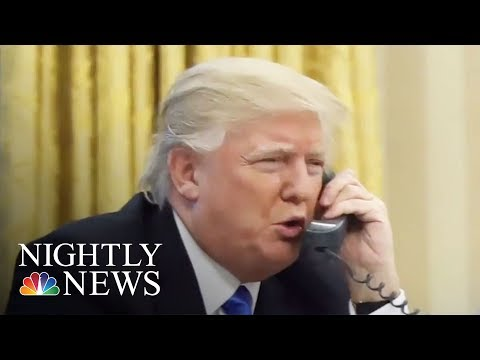 Blunt Calls Between President Donald Trump And Mexico, Australia Leaders | NBC Nightly News