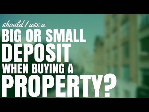 Should I Use A Big or Small Deposit When Buying A Property? (Ep200)