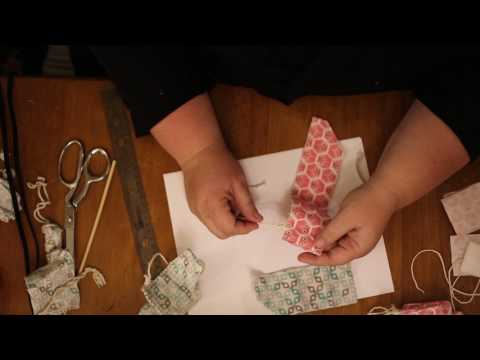 How to make your own reusable cloth tampons