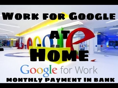Earn Money at Home | घर से पैसा कमाने | How to earn Money ?? | Work In Google from Home