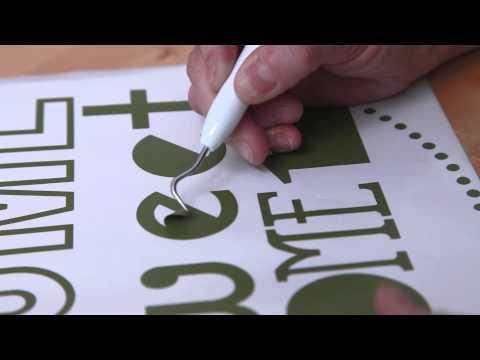 HSN | Cricut |  Cutting And Applying Vinyl