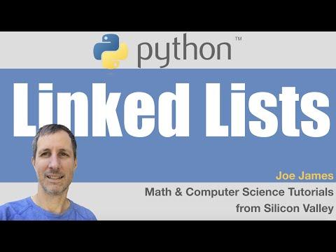 Python: Linked Lists (fast)
