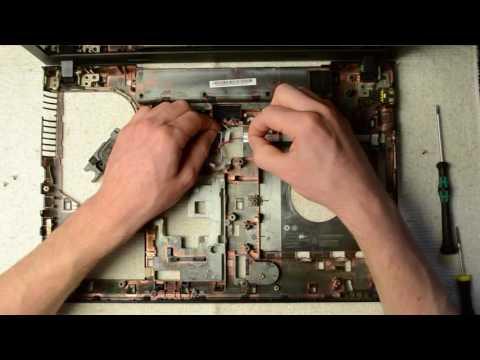 Lenovo G500 laptop disassembly, take apart, teardown tutorial