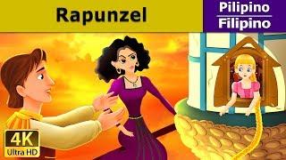 Rapunzel - Kuwentong Pambata - Mga Kuwentong Karikatura tagalog - 4K UHD - Filipino Fairy Tales