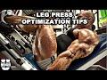 Leg Press Optimization for Maximal Muscle Stimulation | MI40 University - Ben Pakulski