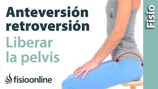 Liberar los movimientos de anteversión y retroversión de la pelvis