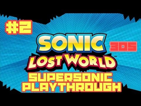 Sonic Lost World (3DS) - Super Sonic Playthrough #2: Windy Hill Zone 1