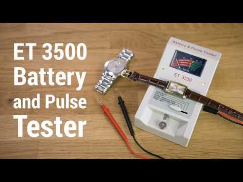 Watch Battery Tester with Pulse and Coil Testers - ET 3500