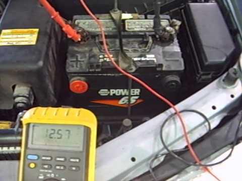 Charging System test (multimeter)
