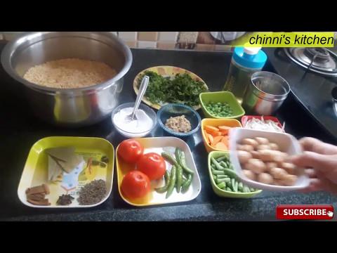 Very tasty ( veg biryani ) cooking in rice cooker