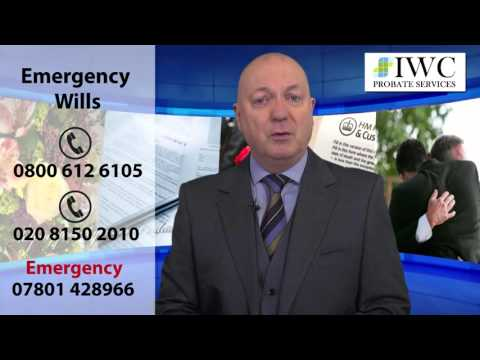 Emergency - Same Day Will Service