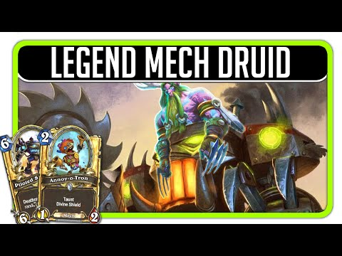 Hearthstone - Legend Mech Druid (130+ matches played)