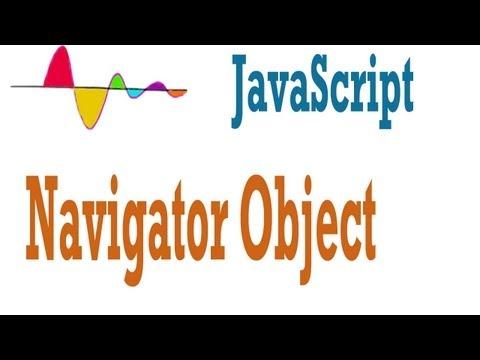 JavaScript Tutorial - Navigator Object