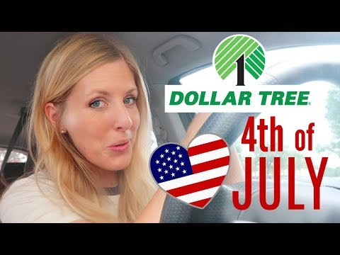 DOLLAR TREE 4th of July HAUL! Everything you need for your party planning!